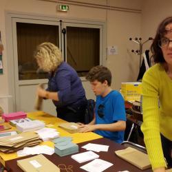 Mise sous plis Elections des P.E de Jules Ferry - Sept 2015