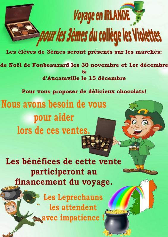Fond vente chocolat 2019
